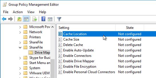 Sharefile drive mapper